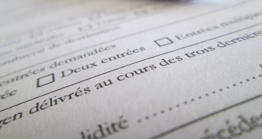 patient intake form translated into French