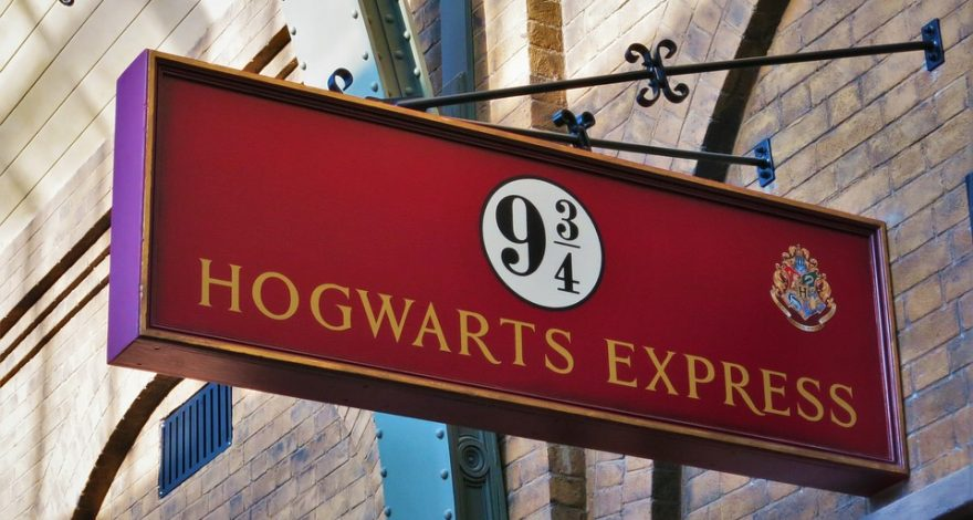 sign for the Hogwarts express