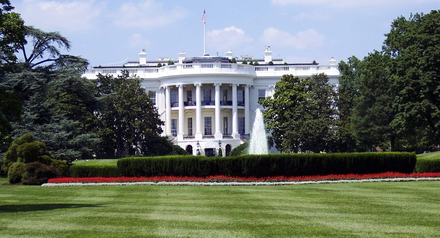 The White House where government interpreters work